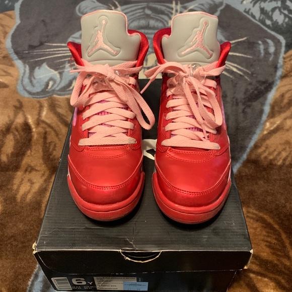sports shoes 415bd 9a440 Air Jordan Retro 5 Valentines Day Jordan's